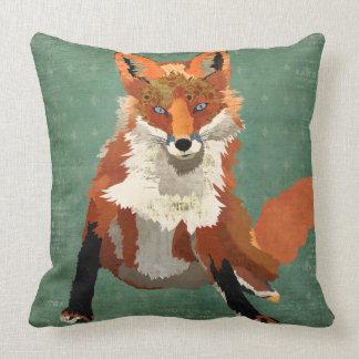 Travesseiro retro ambarino do Fox