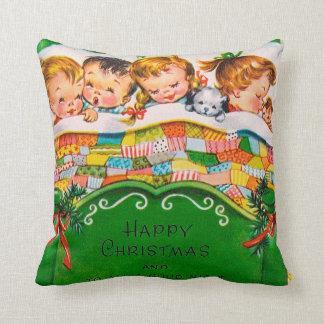 Travesseiro retro da decoração da sala dos miúdos almofada