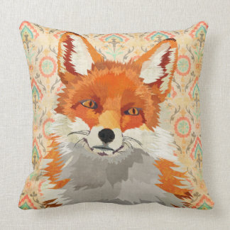 Travesseiro retro do Fox vermelho Mojo