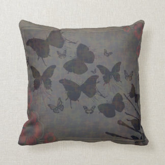 Travesseiro vago do algodão da borboleta almofada