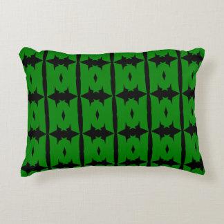 Travesseiro verde do acento da mãe de M Almofada Decorativa
