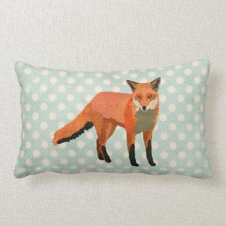 Travesseiros ambarinos do Fox Polkadot MoJo