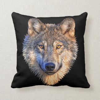 Travesseiros decorativos do estilo do lobo almofada