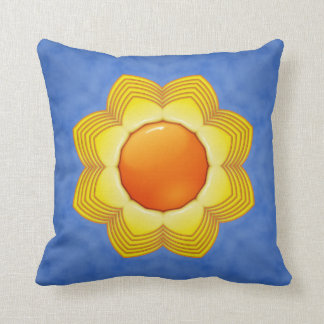 Travesseiros decorativos do teste padrão do almofada