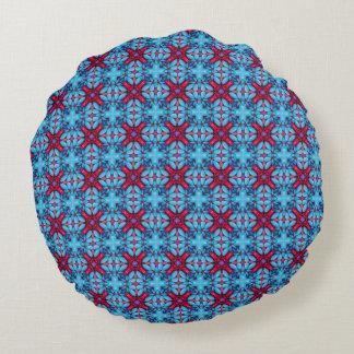 Travesseiros decorativos do teste padrão dos doces almofada redonda