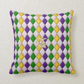 Travesseiros do teste padrão 3 w/crown do almofada