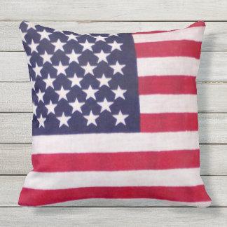 Travesseiros exteriores do verão da bandeira almofada para ambientes externos