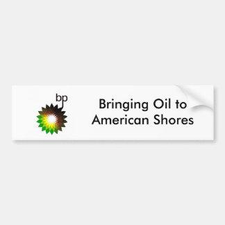Trazendo a óleo costas toAmerican Adesivo