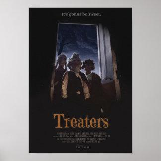 Treaters - poster do brilho A3