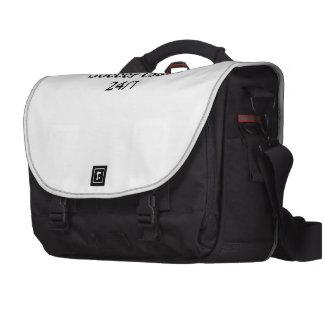 Treinador 24/7 do futebol maletas para laptop