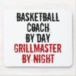 Treinador de beisebol de Grillmaster Mousepad