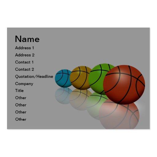 Treinador/diretor cartão de visita do atletismo