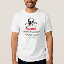 Treinamento de Skydiving T-shirt