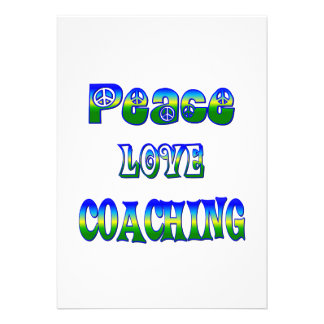 Treinamento do amor da paz convite