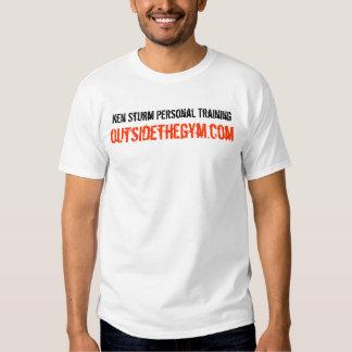Treinamento pessoal de Ken Sturm Camisetas