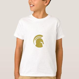 Treinamento pessoal espartano dourado de Roubo Camiseta