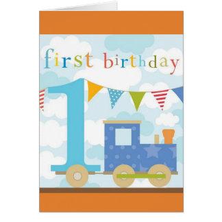 Treine o primeiro cartão de aniversário