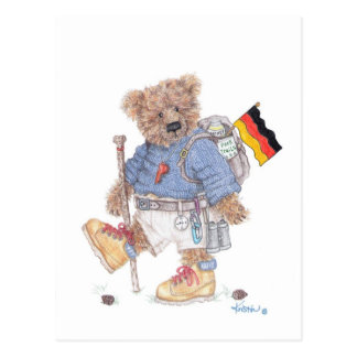 Trekking no cartão de Alemanha