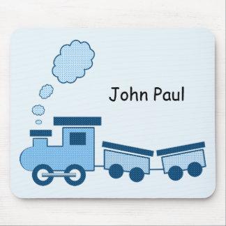 Trem azul de Choo Choo Mouse Pad