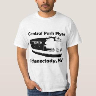 Trem do insecto do Central Park do t-shirt de Camiseta