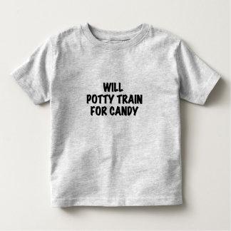 Trem do Potty para o camiseta e os presentes dos