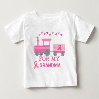 Trem do rosa do cancro da mama para meu Tshirt da