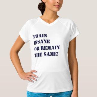Trem insano! camiseta