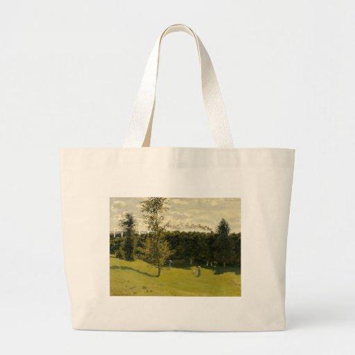 Trem no campo (1870) bolsa para compra
