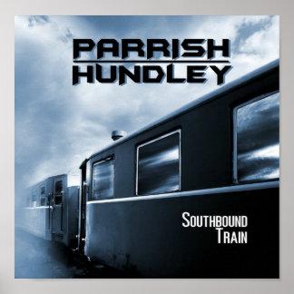 "Trem Southbound 11"" x 11"" poster"