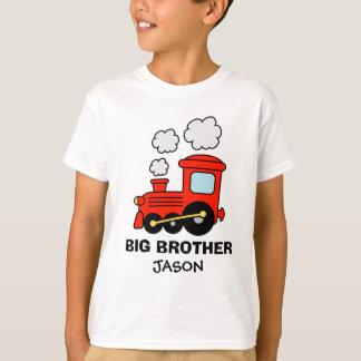 Trem vermelho personalizado do brinquedo da camisa tshirts