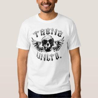 Trenz Unltd. - Camisa do branco do anjo de morte Camisetas