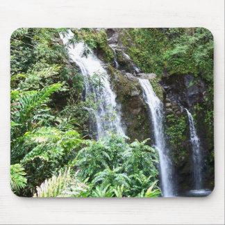 Três cachoeiras havaianas Mousepad