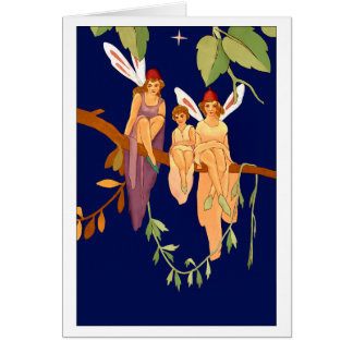 """""""Três cartão de uma árvore"""""""