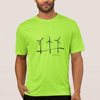 Três geradores de vento camiseta