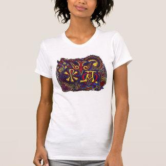 """Três """"preliminares"""" antigos t-shirts"""