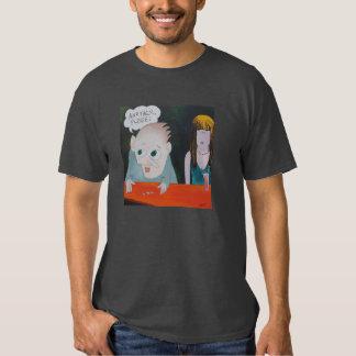 Três t-shirt da obscuridade de Monty do cartão