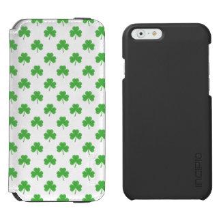 Trevo Coração-Dado forma verde em St Patrick