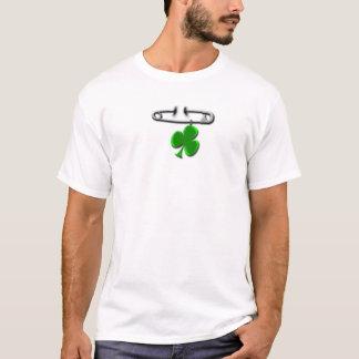 Trevo do Pin de segurança Camiseta