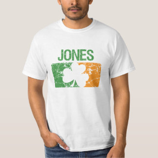 Trevo do sobrenome de Jones Camiseta