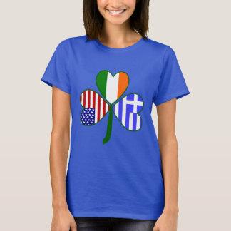 Trevo grego camiseta