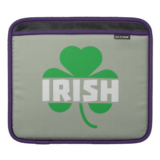 Trevo irlandês Z2n9r do cloverleaf Capa Para iPad