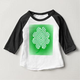 Trevos Camiseta Para Bebê