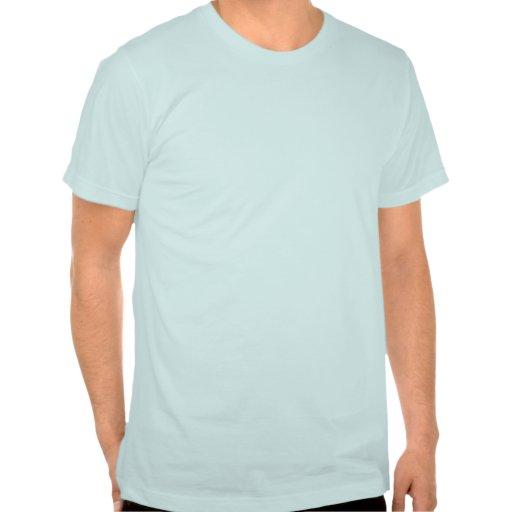 Tri azul de Figura Tshirt