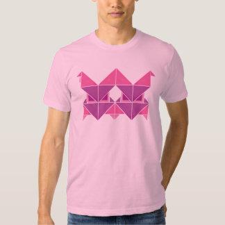 Tri rosa de Figura Tshirts