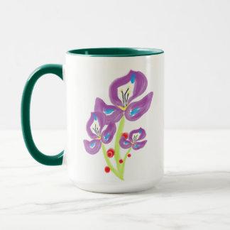 Tri-Violetta caneca