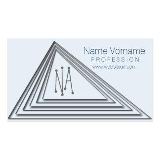 triangle cartão de visita