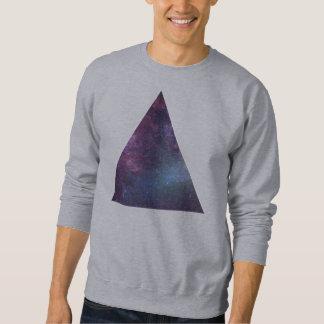 Triângulo do espaço (camisola) moletom
