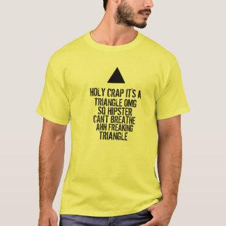 Triângulo do hipster de OMG Camiseta