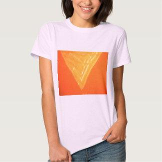 Triângulo dourado: Impressão DE SEDA da celebração T-shirts