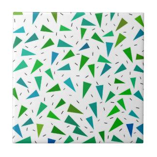 Triângulo geométrico, teste padrão moderno